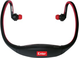 Buy Enter E-NB3 Neckband MP3 Player (Red): Home Audio & MP3 Players