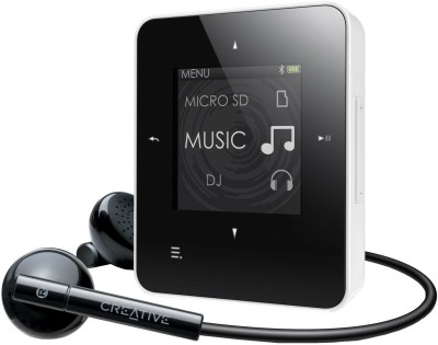 Buy Creative Zen Style M 300 4 GB MP3 Player (White): Home Audio & MP3 Players