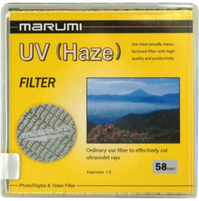 Buy Marumi 58 mm Ultra Violet Haze Filter: Filter