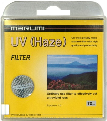 Buy Marumi 72 mm Ultra Violet Haze Filter: Filter