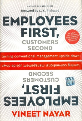Buy Employees First, Customers Second: Turning Conventional Management Upside Down 1st Edition: Book