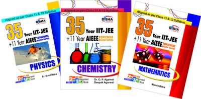 Buy Physics, Chemistry, Mathematics: 35 Years IIT-JEE + 11 Years AIEEE 1st Edition: Book