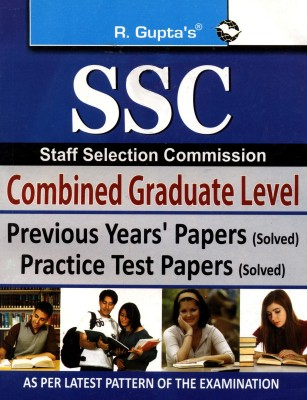 Buy SSC Graduate Level Previous Years' Papers and Practice Test Papers: Book