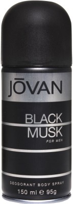 Buy Jovan Black Musk Deo Spray  -  150 ml: Deodorant
