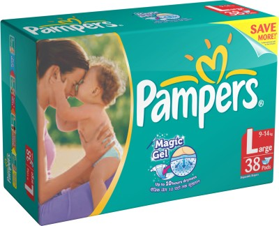 Buy Pampers Diaper - Large: Diaper