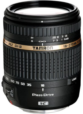 Buy Tamron 18-270mm F/3.5 6.3 Di II VC PZD (for Canon Digital SLR) Lens: Lens