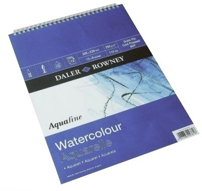 Buy Daler-Rowney Aquafine Water Color Paper: Paper