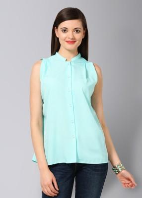 Buy Femella Women's Solid Casual Shirt: Shirt